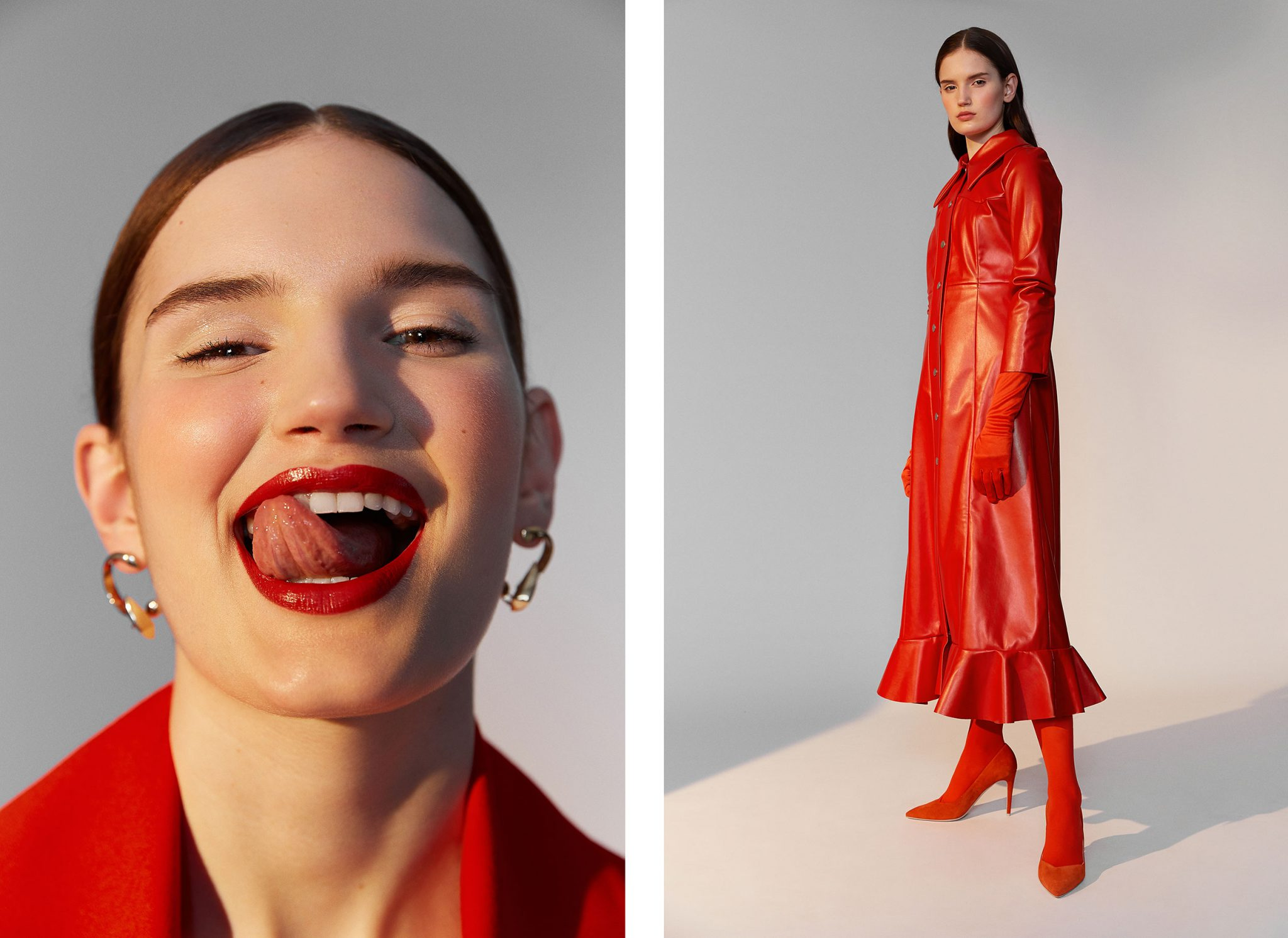 Laura Palm - Rouge et Blanc - Jungle Magazine