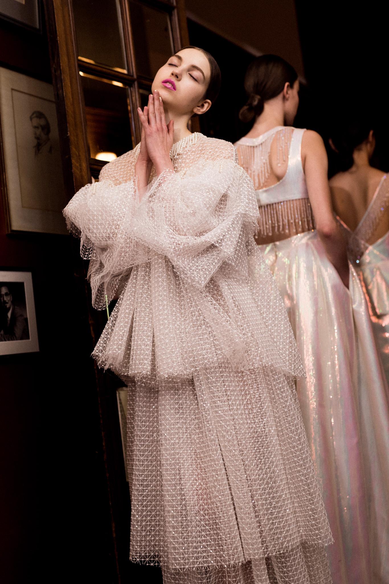 Huishan Zhang- London Fashion Week - AW18 - Jungle Magazine