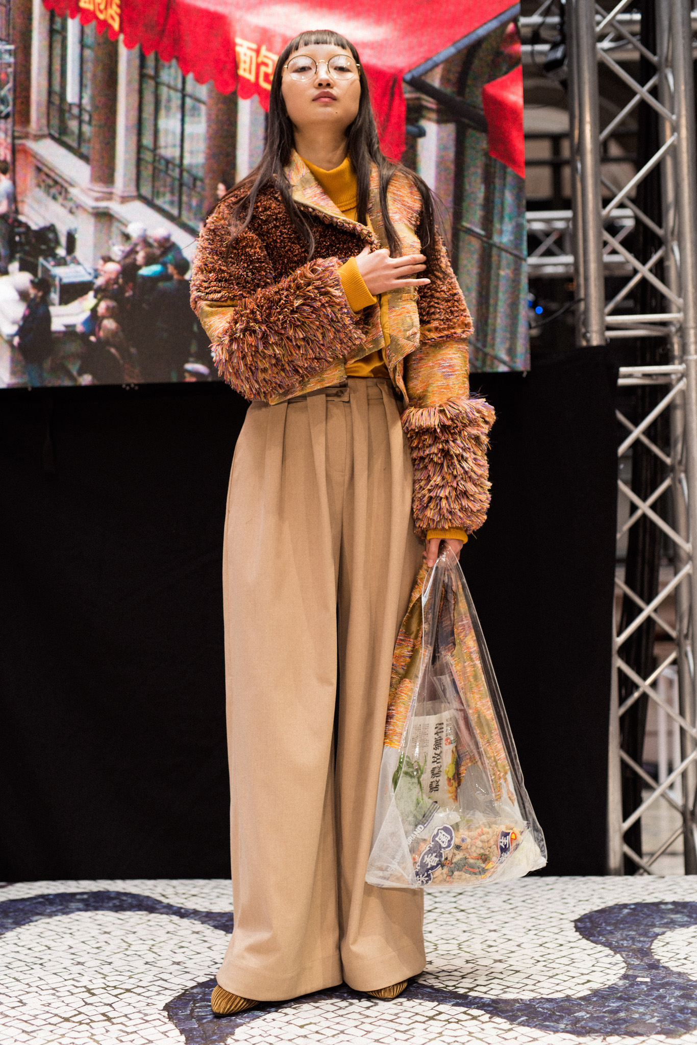 steventai jungle magazine London fashion week Sanne glasbergen